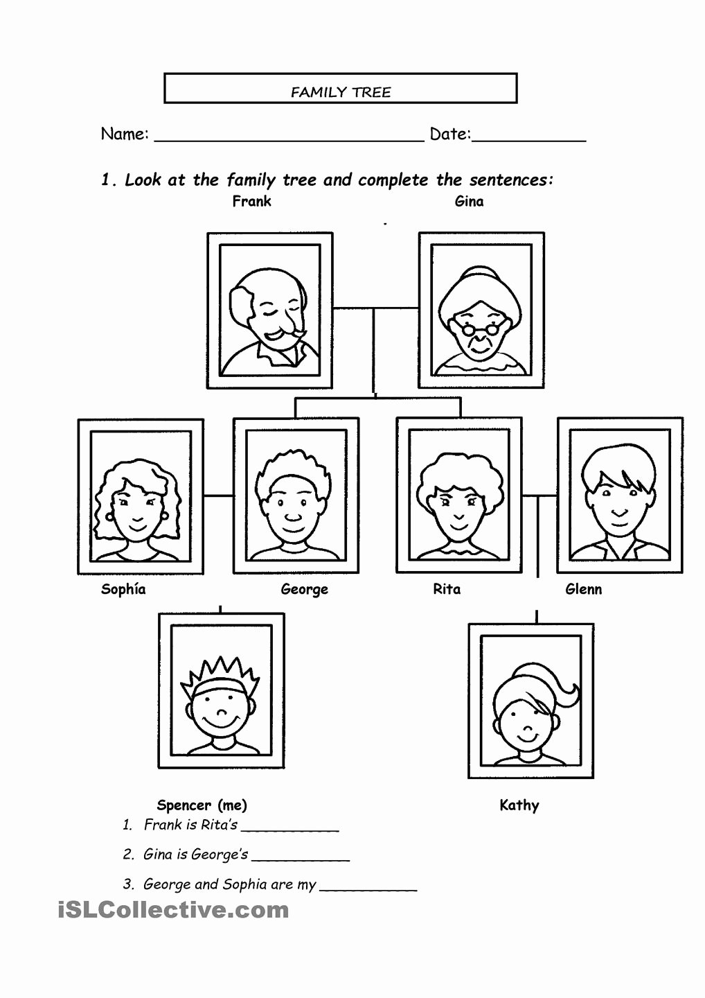 Spanish Family Tree Worksheet Awesome 13 Best Of Spanish Family Tree Worksheet Family
