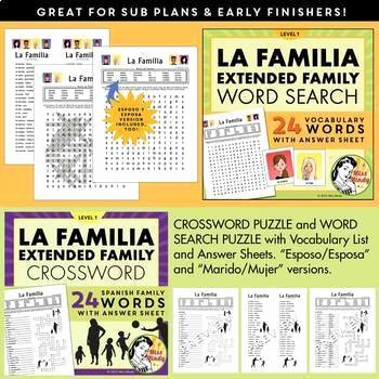 Spanish Family Tree Worksheet Beautiful La Familia Spanish Family Unit Family Tree Worksheets