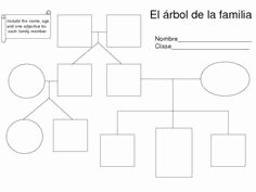 Spanish Family Tree Worksheet Lovely My Family Tree Idea E with they Were Strong & Good