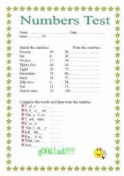 Spanish Numbers Worksheet 1 100 New English Teaching Worksheets Numbers 1 100