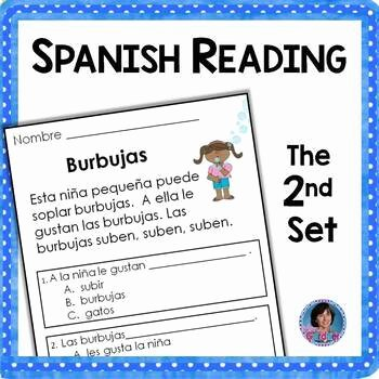 Spanish Reading Comprehension Worksheet Beautiful Spanish Reading Prehension Passages and Questions the