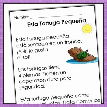 Spanish Reading Comprehension Worksheet Best Of Spanish Reading Prehension Passages with Text Based