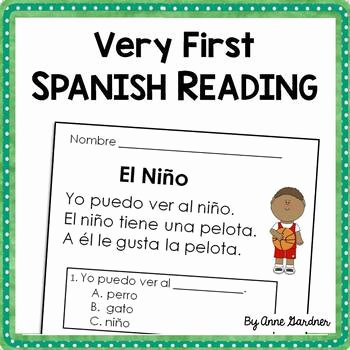 Spanish Reading Comprehension Worksheet Fresh Spanish Reading Prehension Passages for Beginning