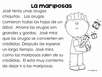 Spanish Reading Comprehension Worksheet Inspirational Spanish Prehension and In Spanish On Pinterest