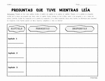 Spanish Reading Comprehension Worksheet New Reading Prehension Close Reading Worksheet Spanish