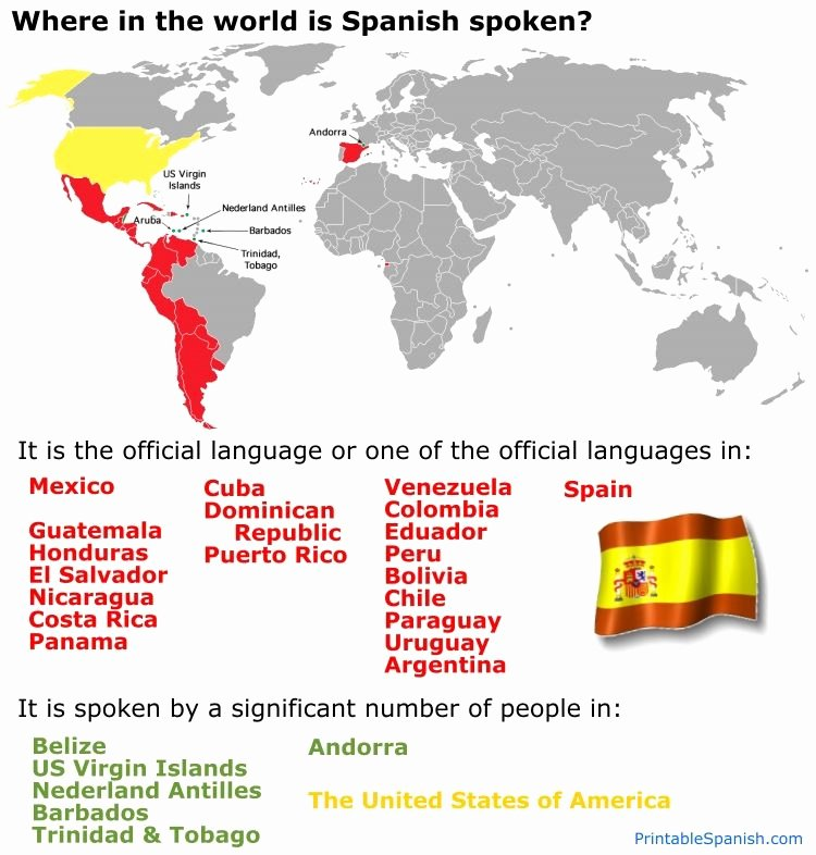 Spanish Speaking Countries Map Worksheet Awesome Line Spanish Textbook Free Printable Lesson Spanish