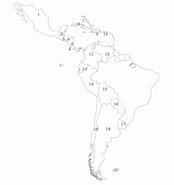 Spanish Speaking Countries Map Worksheet Awesome Spanish Speaking Countries