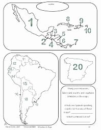 Spanish Speaking Countries Map Worksheet Elegant Maps Quiz Spanish Speaking Countries