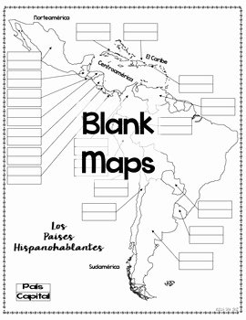 Spanish Speaking Countries Map Worksheet Inspirational Spanish Speaking Countries Maps and Quizzes by Sra Cruz