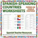 Spanish Speaking Countries Worksheet Inspirational Woodward Education Teaching Resources