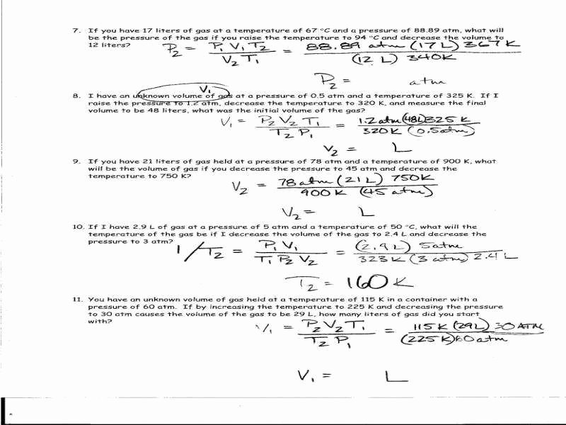 Specific Heat Worksheet Answer Key Unique Specific Heat Worksheet Answers