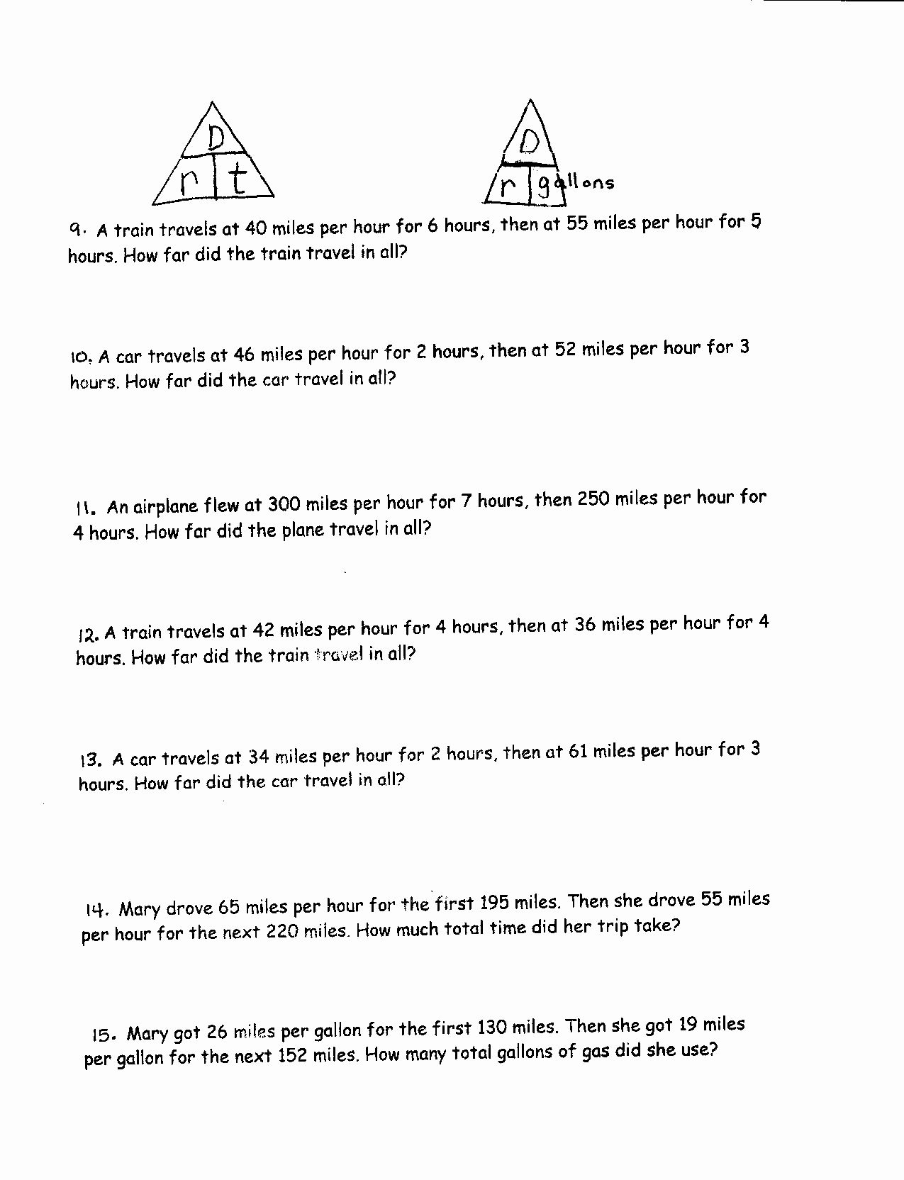 Speed Time and Distance Worksheet Lovely 15 Best Of Multiplying and Dividing Exponents