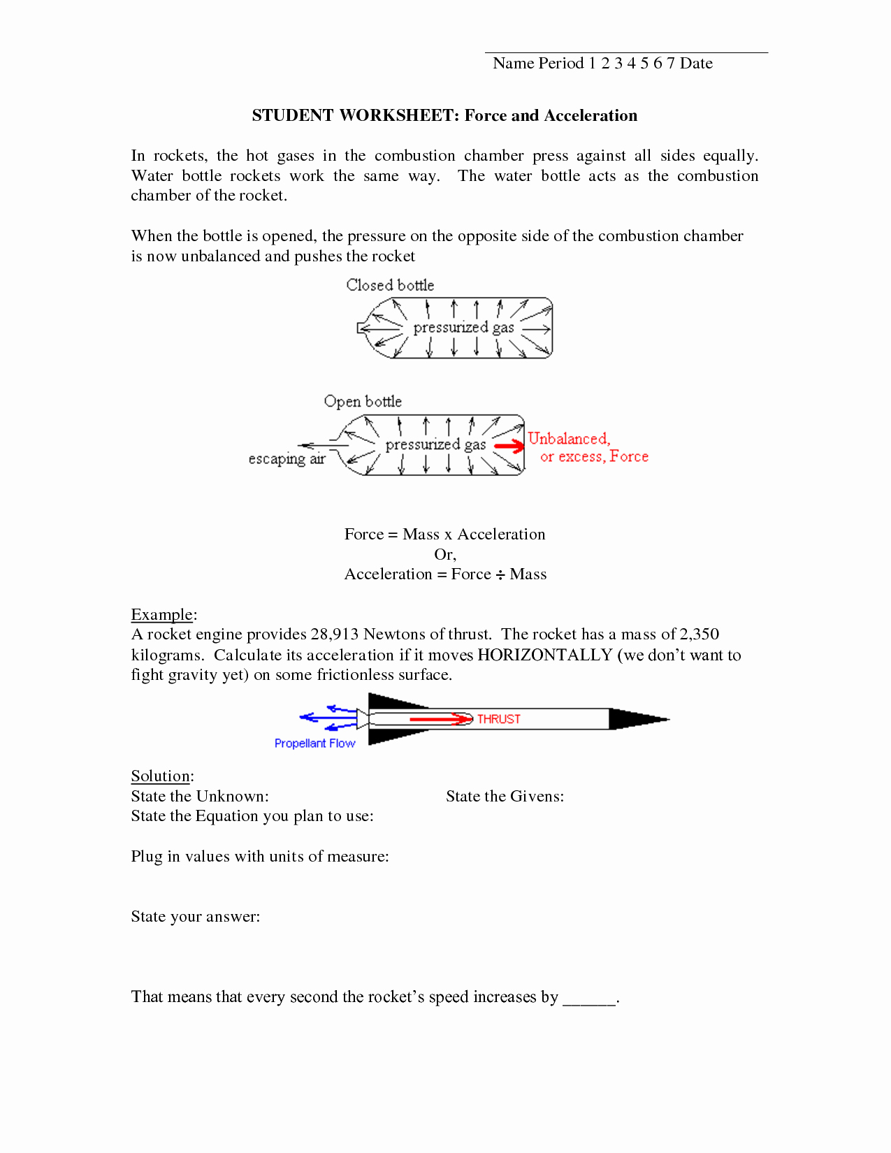 Speed Velocity and Acceleration Worksheet Beautiful 6 Best Of Speed and Velocity Worksheets with