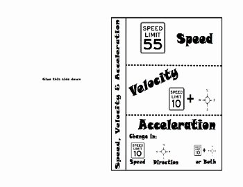 Speed Velocity and Acceleration Worksheet Luxury Speed Velocity and Acceleration by Sciencerly