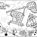 Sponges A Coloring Worksheet Fresh Spongebob Squarepants Coloring Pages for Kids Free