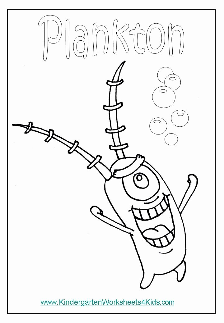 Sponges A Coloring Worksheet New Spongebob Coloring Pages