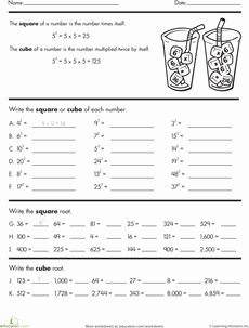 Square and Cube Roots Worksheet Lovely 1000 Images About Cc 8 Ns 2 Number System Mon Core