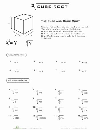 Square and Cube Roots Worksheet Unique 214 Best Teaching Aids Images On Pinterest