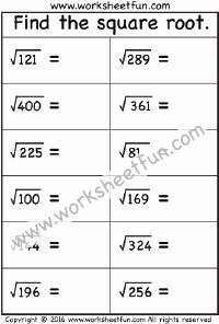 Squares and Square Roots Worksheet Fresh 1000 Images About Squares & Square Roots On Pinterest