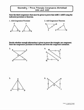 Sss Sas asa Aas Worksheet Fresh Prove Triangle Congruence Sss Sas asa Aas Lesson