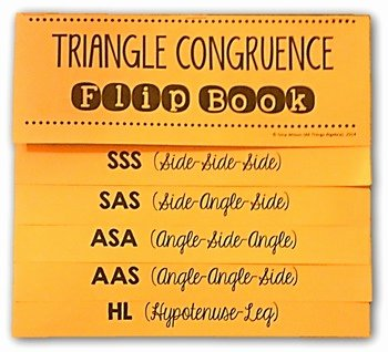 Sss Sas asa Aas Worksheet Luxury Congruent Triangles Flip Book by All Things Algebra