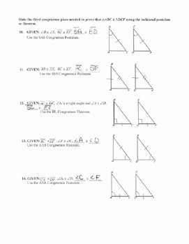 Sss Sas asa Aas Worksheet Unique Geometry Unit 8 Congruent Triangles Sss Sas asa Aas Hl