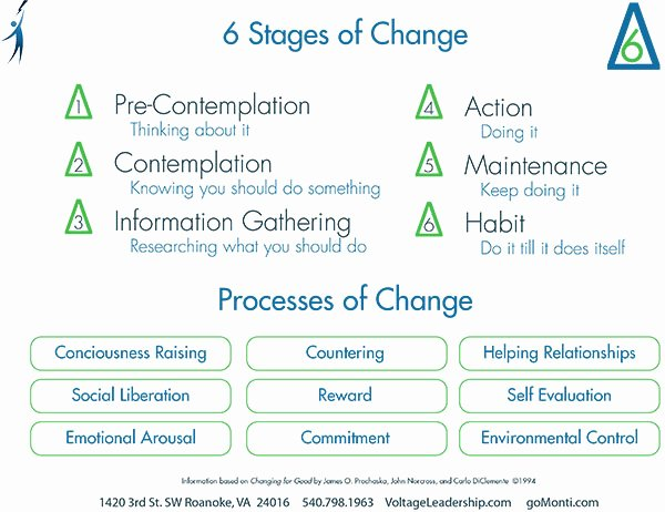 Stages Of Change Worksheet Unique Manager to Leader
