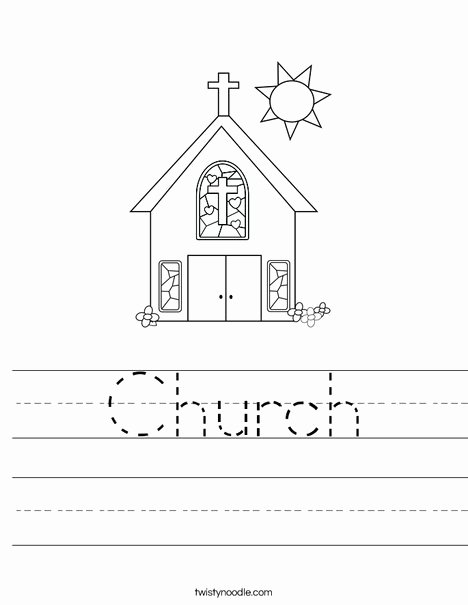 Stained Glass Windows Worksheet Elegant Church Worksheet Twisty Noodle