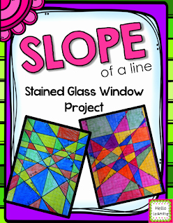 Stained Glass Windows Worksheet Luxury Hello Learning Slope Stained Glass Window Project