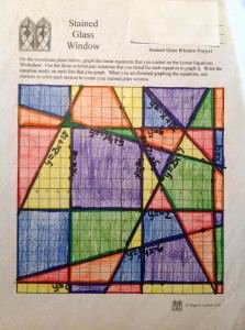 Stained Glass Windows Worksheet New Missing Angles to 90 Degrees 5th Grade Geometry and Other