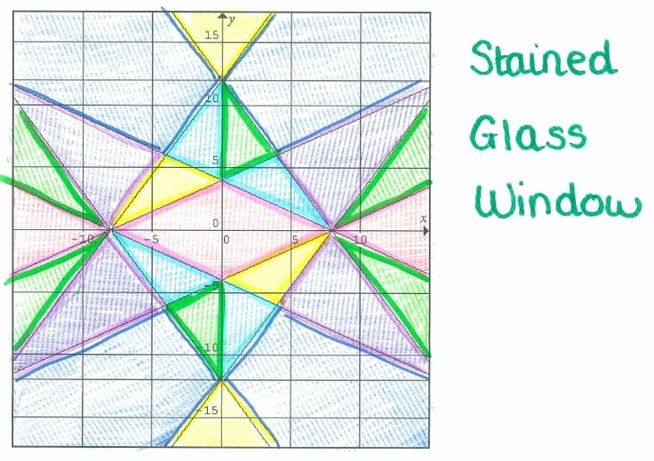Stained Glass Windows Worksheet Unique 10 Images About Algebra Projects On Pinterest