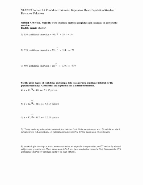 Standard Deviation Worksheet with Answers Fresh 56 Mean Absolute Deviation Worksheet Showme Results for