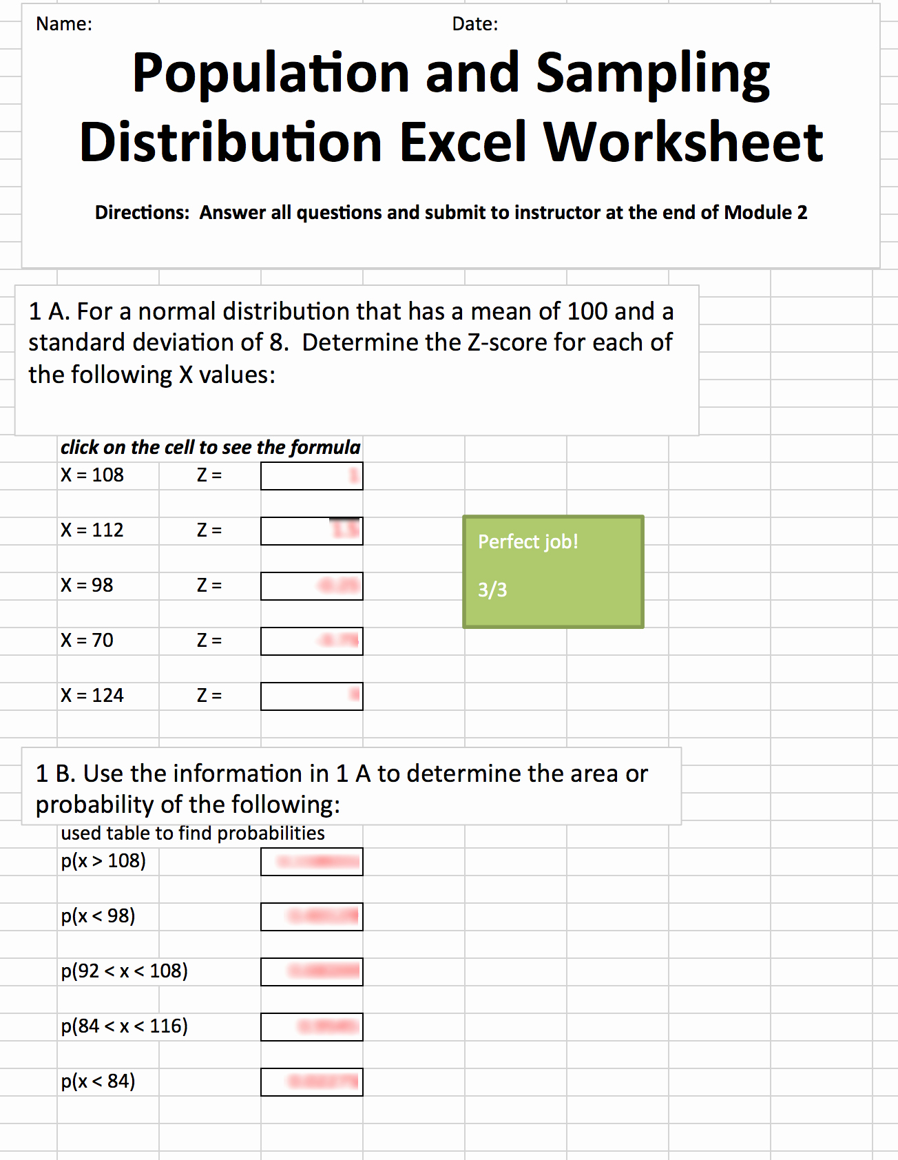 Standard Deviation Worksheet with Answers New 34 Z Score Worksheet Answers