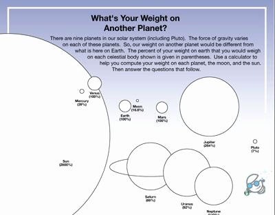 Stars and Galaxies Worksheet Answers Inspirational Galaxy Worksheet Weight On Other Planets