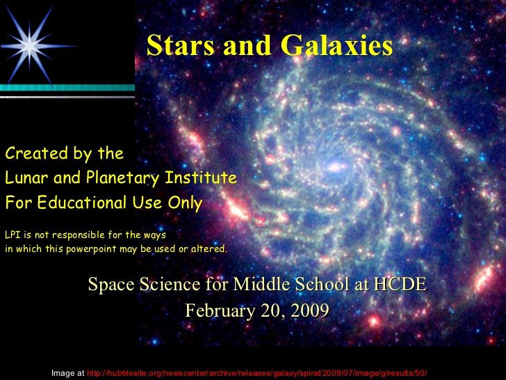 Stars and Galaxies Worksheet Answers Lovely Stars Galaxies Powerpoint