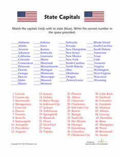 States and Capitals Matching Worksheet Unique Free Printable Flag Day Bingo Cards and Flag Day Bingo