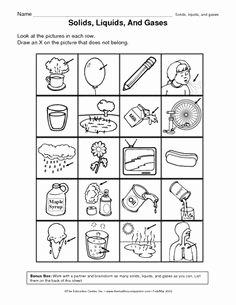 States Of Matter Worksheet Pdf Beautiful Free Printable Phases Of Matter Worksheets