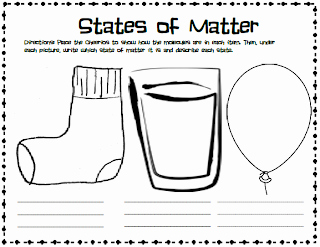 States Of Matter Worksheet Pdf Elegant Me and My Gang Matter with Cheerios