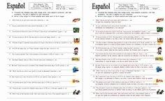 Stem Changing Verbs Worksheet Answers Fresh Spanish Stem Change Verbs & Time 12 Sentences Worksheet