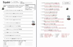 Stem Changing Verbs Worksheet Answers Inspirational 1000 Images About 1 2 Stem Changing Verbs Unidad 4 1 4 2