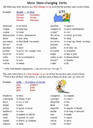 Stem Changing Verbs Worksheet Answers Lovely Free 19 Page Worksheet Packet On Spanish Go Verbs Venir