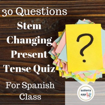 Stem Changing Verbs Worksheet Awesome Spanish Stem Changing Present Tense Verbs Quiz En Espanol