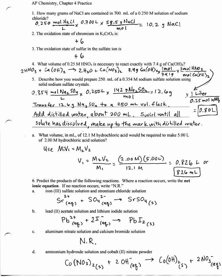 Stoichiometry Problems Worksheet Answers Awesome Stoichiometry Worksheet 1 Answers