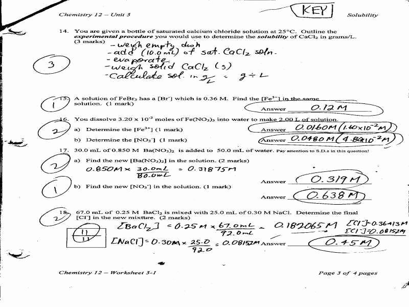 Stoichiometry Worksheet Answer Key Elegant solution Stoichiometry Worksheet