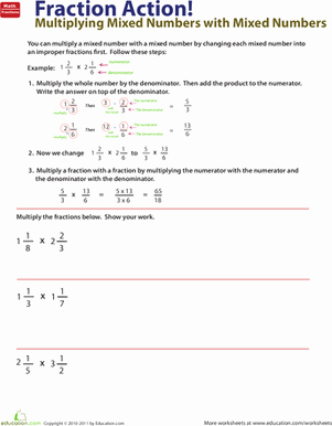 Subtracting Mixed Numbers Worksheet Luxury Adding and Subtracting Mixed Numbers