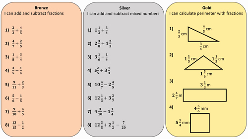 Subtracting Mixed Numbers Worksheet New Differentiated Worksheet On Adding and Subtracting