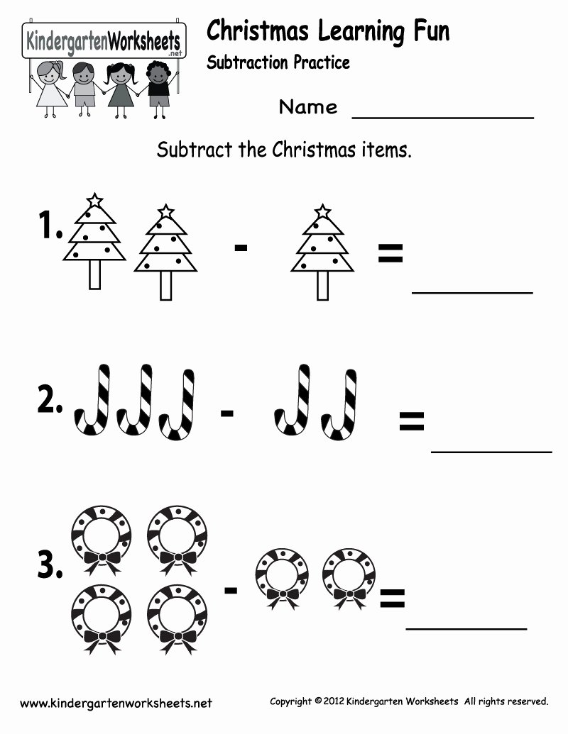 Subtraction Worksheet for Kindergarten Best Of Fresh Kindergarten Subtraction Worksheets with