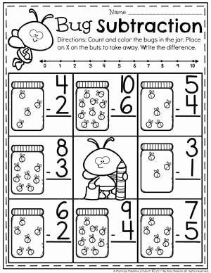 Subtraction Worksheet for Kindergarten Fresh Subtraction Worksheets Kindergarten