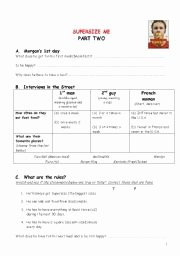 Super Size Me Video Worksheet Elegant Supersize Me Documentary Worksheet Esl Worksheet by Csuchy