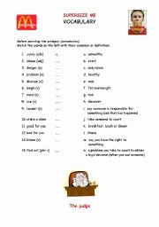 Super Size Me Video Worksheet Unique Supersize Me Worksheets